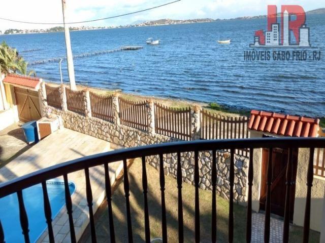 Casa duplex com piscina e Casa de hospede, frente para Lagoa de Araruama Balneário - São P - Foto 4