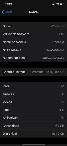IPhone X 64 novíssimo - Foto 5