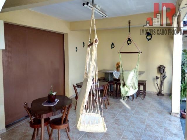 Casa duplex com piscina e Casa de hospede, frente para Lagoa de Araruama Balneário - São P - Foto 5