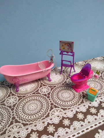 Banheiro Barbie c banheira - Foto 3
