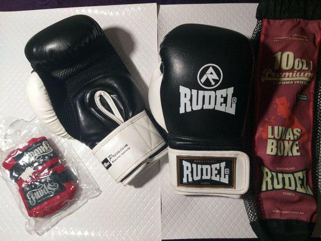 Luva de boxe | Muay tai Rudel e Bandagem - Foto 2