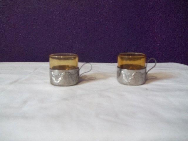 Conjunto de mini xícaras
