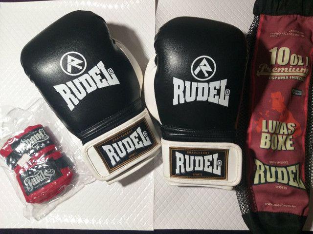 Luva de boxe | Muay tai Rudel e Bandagem
