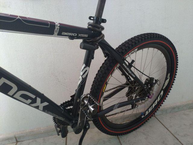 Bike vikings aero x55 aro 26 toda Shimano gts dois pneus zero - Foto 6
