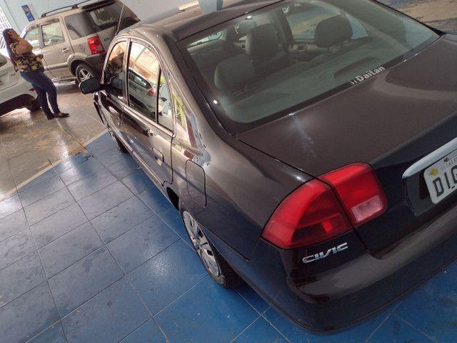 Honda Civic 2002 Manual 1.7 Era Assegurado Porto Seguro - Foto 5