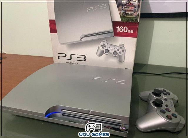Playstation 3 Edição Cinza - Garantia - Destravado - Foto 3