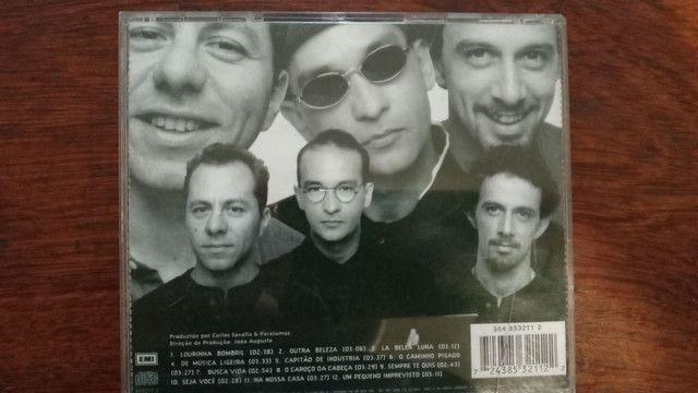 Cd Paralamas do sucesso ( nove luas )1996 - Foto 2