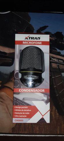 Microfone (condensador) - Foto 2