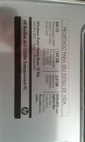 Vendo Notebook HP com defeito, liga mas não aparece imagem na tela - Foto 6