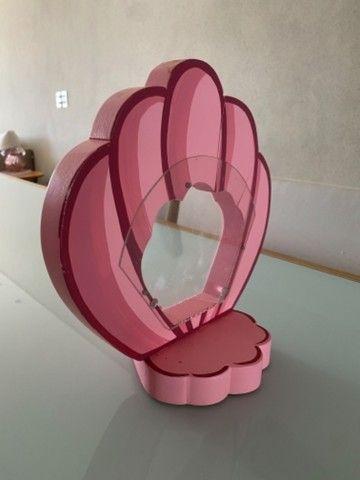 Enfeite de mesa- concha  (02 unidades rosas e 02 unidades lilás) - Foto 2