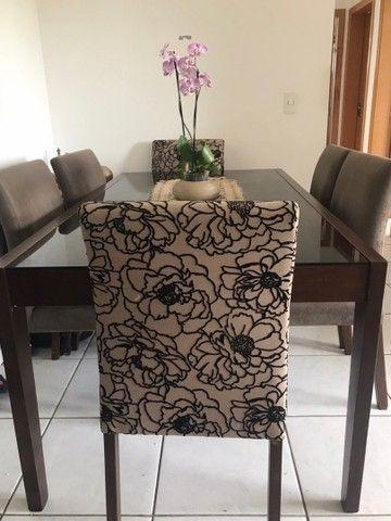 Última oportunidade - mesa de jantar luxo com 6 cadeiras - Foto 4