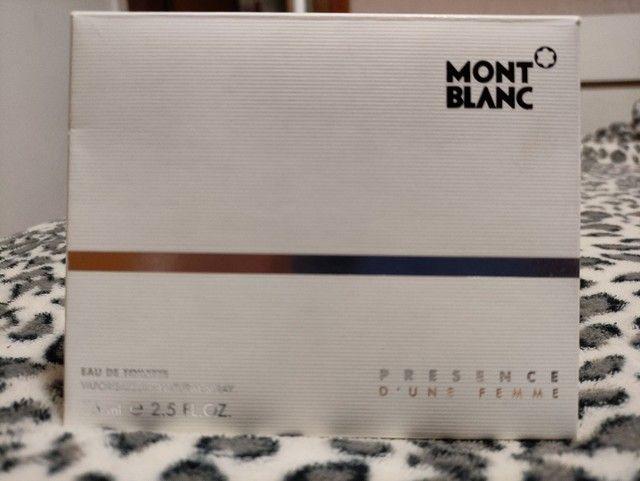 Perfume importado Mont Blanc feminino original