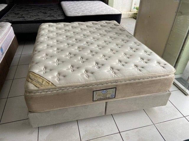 cama box queen size - Viscoelastic - entrego