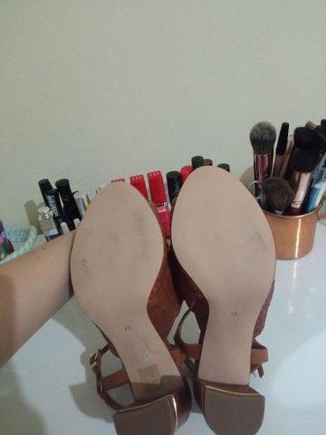 Sandália de couro tamanho 37 - Jorge Bischoff - Nova! - Foto 6