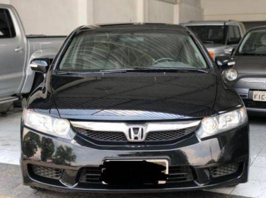 Honda Civic preto 1.8lxs 16v Flex 4p automático ano 2010  - Foto 4