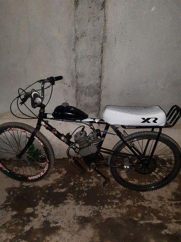 Vendo bike motorizada zera