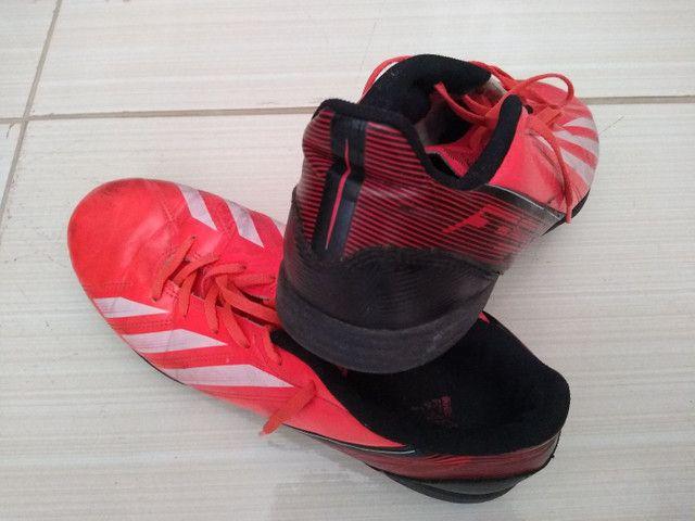 Chuteira Society Adidas F50 T43 - Foto 3