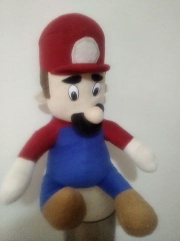 Super Mario boneco original década 90 - Foto 2