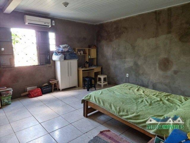 Velleda oferece 1 hectare a 5 minutos centro viamão com açude e casa, troca - Foto 3