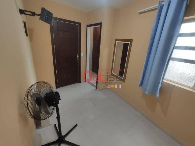 Apartamento com 3 dormitórios para alugar, 90 m² por R$ 2.800,00/mês - Algodoal - Cabo Fri - Foto 10
