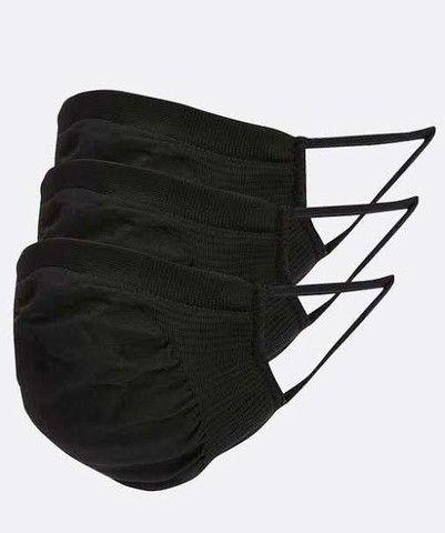 Kit com 3 Máscaras Microfibra Trifil, Único<br><br>