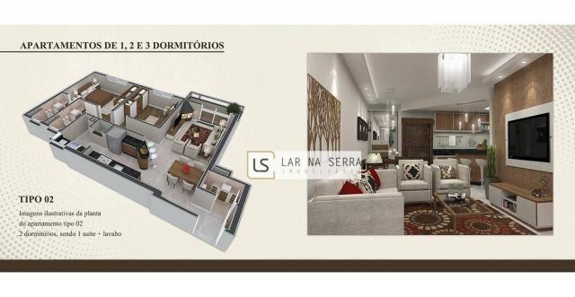 Apartamento com 2 dormitórios à venda, 105 m² por R$ 549.000,00 - Vila Suiça - Canela/RS - Foto 5