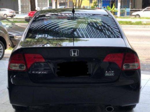 Honda Civic preto 1.8lxs 16v Flex 4p automático ano 2010  - Foto 2