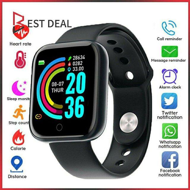 Smartwatch y68 D20 Relogio inteligente