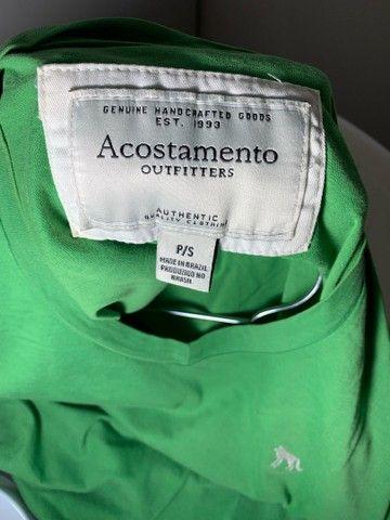Camisa masculina Acostamento - Foto 3