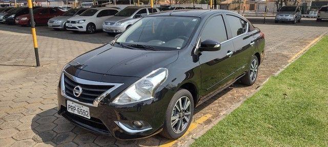 Nissan Versa SL Unique 1.6 FlexStart Preto 2018/2018