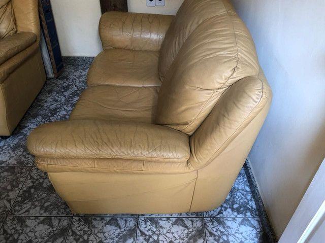 2 Sofás de couro - Foto 2