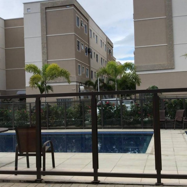 APT 128, Messejana, apartamento novo no 1º andar com 02 quartos, piscina - Foto 6