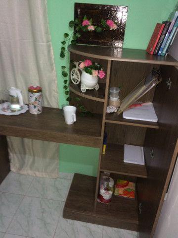 Escrivaninha com armário  - Foto 2