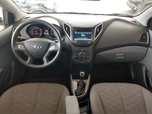 Hyundai HB20S Comfort Plus 1.6 Flex Automático 2019 - 27.481 Km / Garantia Fábrica 11/2023 - Foto 9