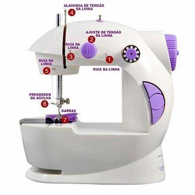Mini máquina de costura doméstica  - Foto 3