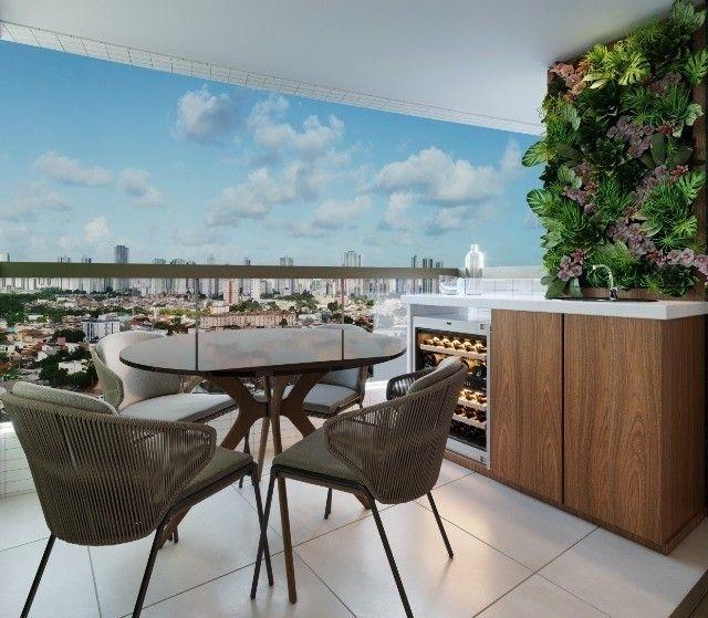RB 081 Lançamento nas Graças | Apart, de 85m² com Varanda Gourmet | Edf. Dumont Garden - Foto 6