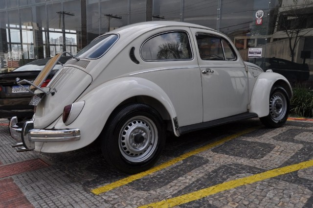 Volkswagen Fusca 79 1.300 Carro de colecionador, placa preta   Nunca foi restaurado. - Foto 9