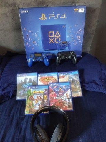 PS4 série limitada 1tb. - Foto 2