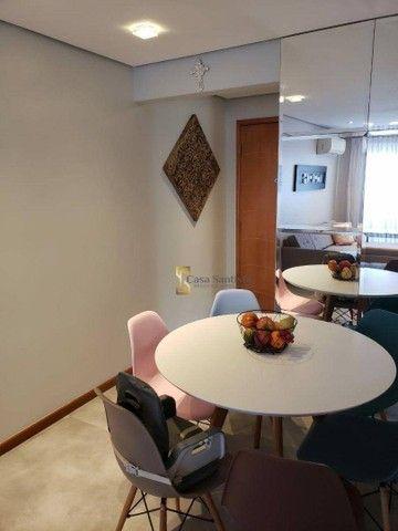 Apartamento com 2 dormitórios à venda, 70 m² por R$ 485.000,00 - Aparecida - Santos/SP - Foto 8