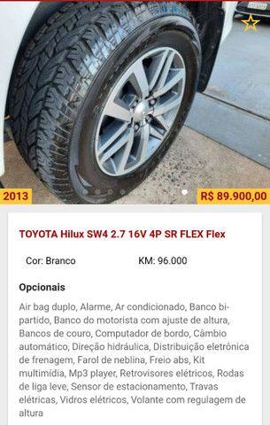 Toyota Hilux SW4 2.7 16V SR Flex Automático 5 lugares 2013 - Foto 8