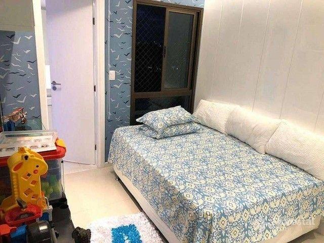 Apartamento 4 suítes alto padrão decorado com varanda/ Maison Biarritz Patamares Apt patam - Foto 6