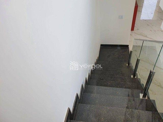Casa com 3 dormitórios à venda, 146 m² por R$ 750.000,00 - Condomínio Trilhas Do Sol - Lag - Foto 7