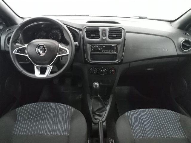 Renault Sandero 2020 Completo Flex - Foto 8