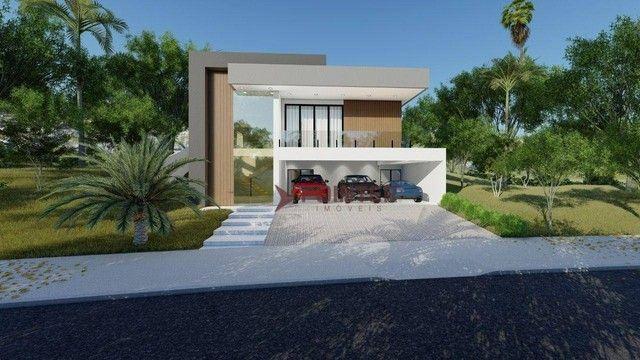 Sobrado com 4 dormitórios à venda, 615 m² por R$ 1.899.000,00 - Condomínio do Lago - Goiân - Foto 2