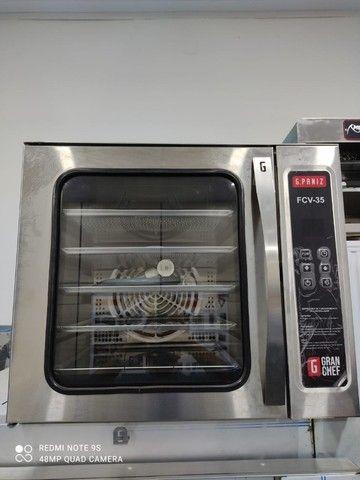 Forno para pizza e de Convecção Elétricos - Skymsen/G.paniz - Produto NOVO - Vix  - Foto 2