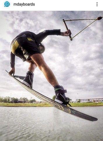 Prancha wakeboard  nova  Mdayboards Cable park  150 cm  - Foto 2