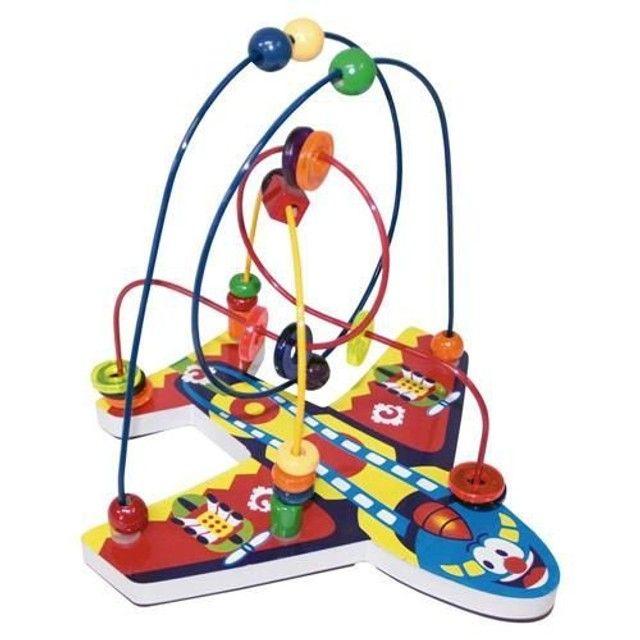 Brinquedo Educativo Aramado Avião - Montanha-russa