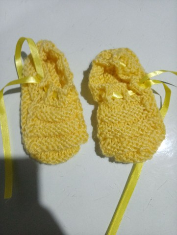 Sapato + cachecol bebe