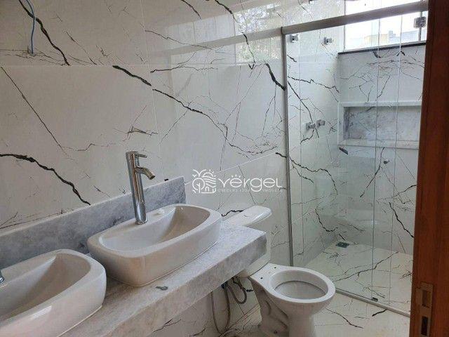 Casa com 3 dormitórios à venda, 146 m² por R$ 750.000,00 - Condomínio Trilhas Do Sol - Lag - Foto 9