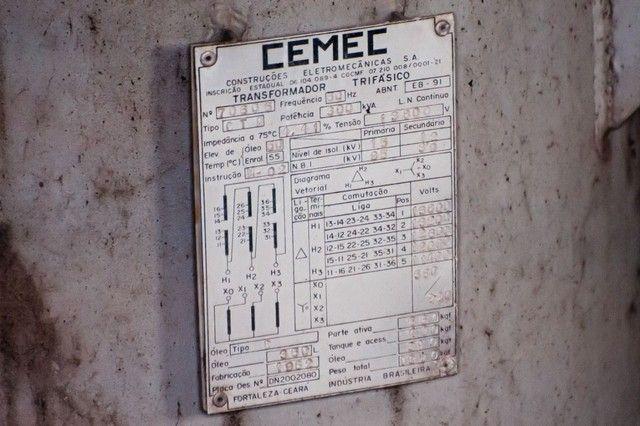 Transformador Trifásico Sub Estação CEMEC 300KVA  - Foto 3